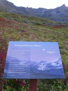 Independence Mine, August, installation, 2014